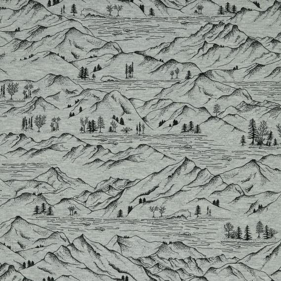 Baumwolljersey Mountains