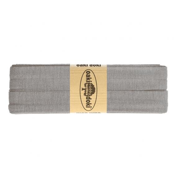 Jersey Schrägband 20mm x 3meter (grau)