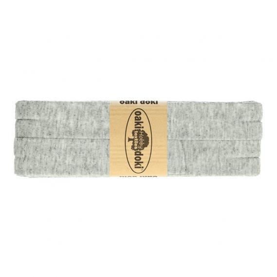 Jersey Schrägband 20mm x 3meter (hellgrau)