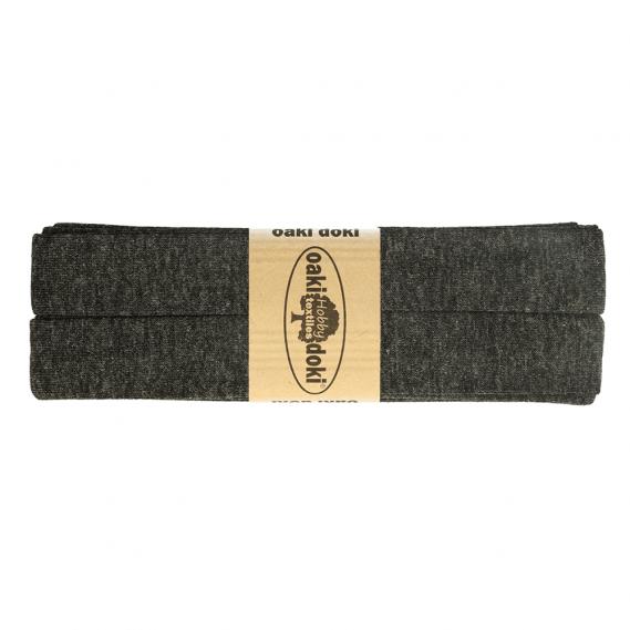Jersey Schrägband 20mm x 3meter (dunkelgrau)