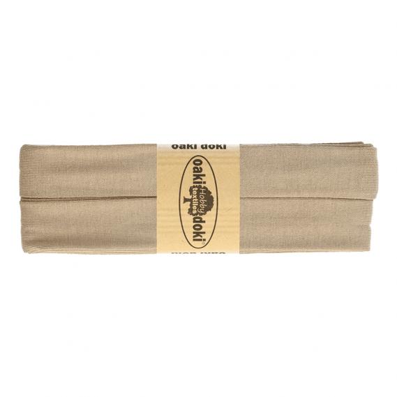 Jersey Schrägband 20mm x 3meter (braun)