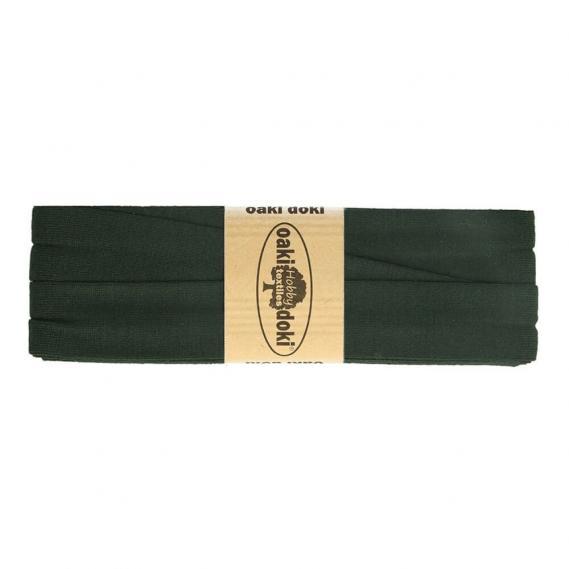 Jersey Schrägband 20mm x 3meter (tannengrün)
