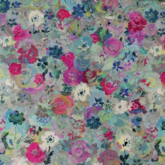 Baumwolljersey Blumenliebe